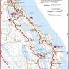 130 km reitin kartta